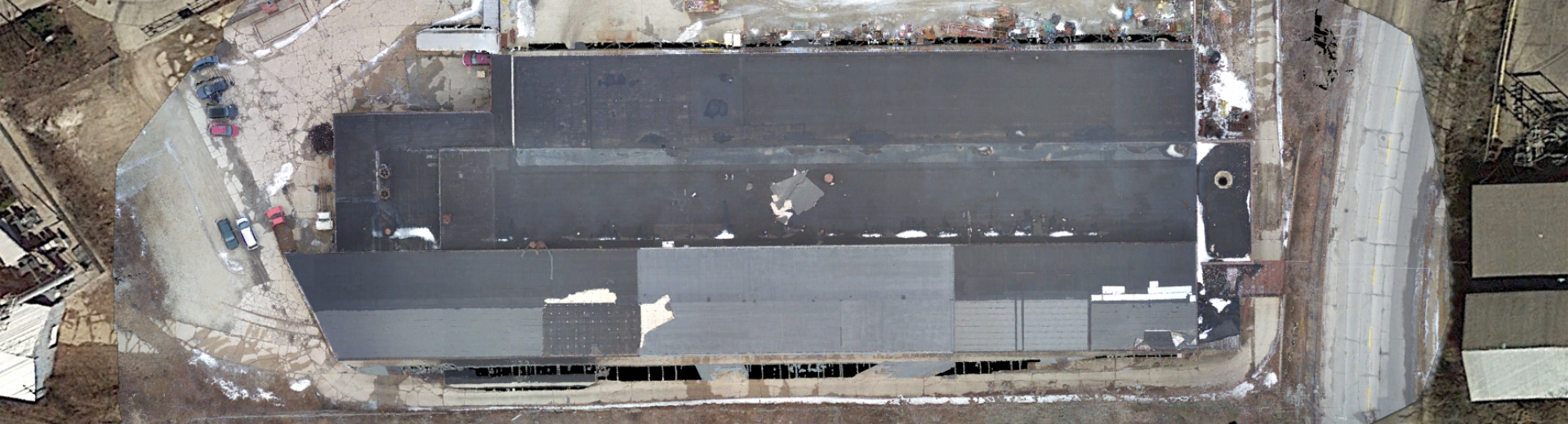 Drone Imagery of Roof