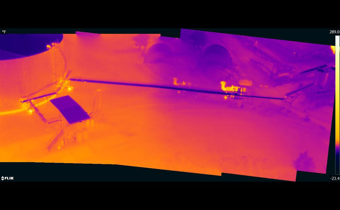 Post construction thermal tank inspection | Menet Aero