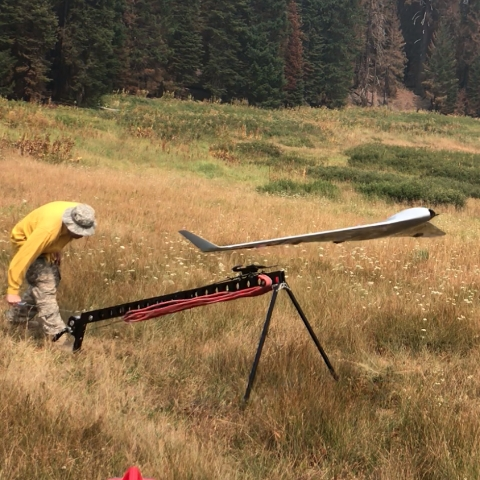 Wildland Fire Air Recon