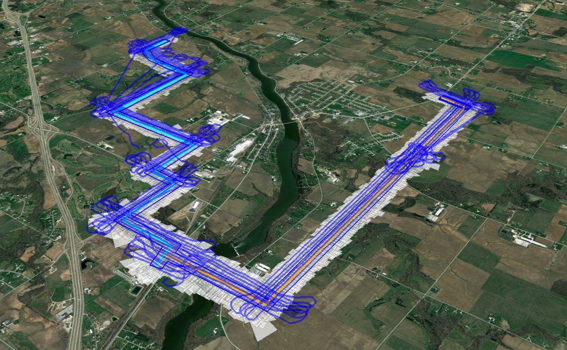 Pipeline corridor survey